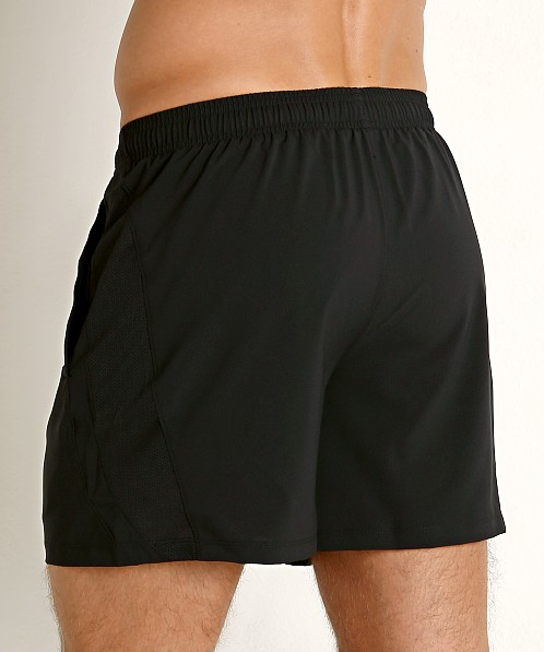 "Under Armour Launch 5"" Running Short Black/Reflective"