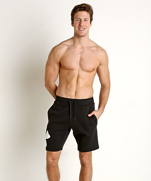 Under Armour Rival Fleece Logo Sweatshort Black/White