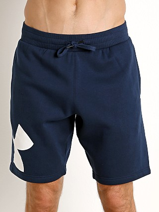 Under Armour Rival Fleece Logo Sweatshort Academy/White