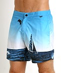 Hugo Boss Blackfish Swim Shorts Blue, view 3