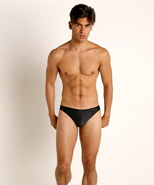LASC St. Tropez Low Rise Swim Brief Black