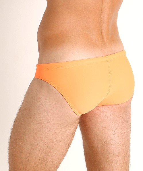 LASC St. Tropez Low Rise Swim Brief Neon Orange