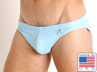 LASC St. Tropez Low Rise Swim Brief Baby Blue