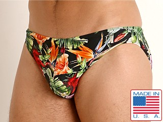 LASC St. Tropez Low Rise Swim Brief Paradise