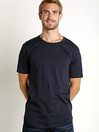 Complete the look: LASC Hipster Long T-Shirt Navy