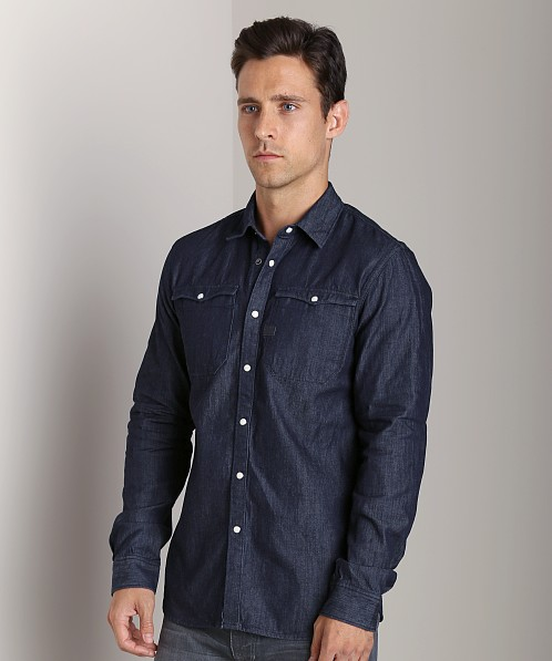G-Star Hunter Western Shatter Denim Shirt