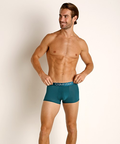 Calvin Klein Ultra Soft Modal Trunk Teal Diamond