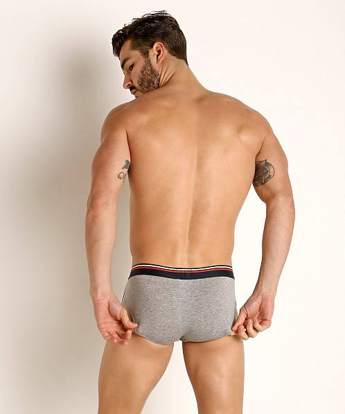 Hugo Boss Comfort Hip Brief Heather Grey