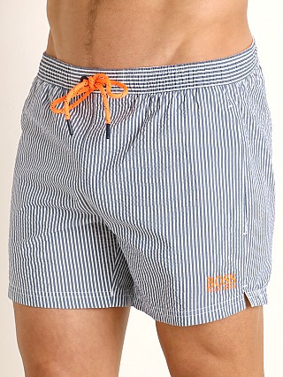 Complete the look: Hugo Boss Velvetfish Swim Shorts Navy
