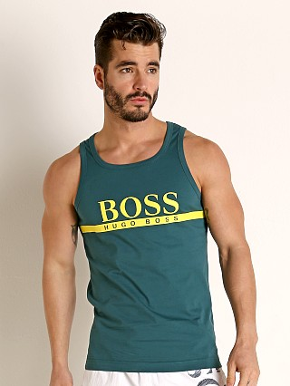 Complete the look: Hugo Boss Beach Tank Top Green