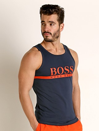 Complete the look: Hugo Boss Beach Tank Top Navy