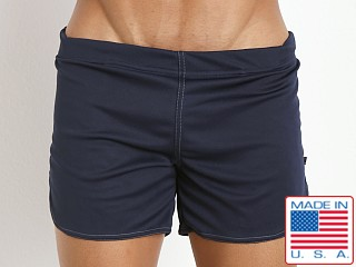 American Jock Shorts with Built-in Jock Navy
