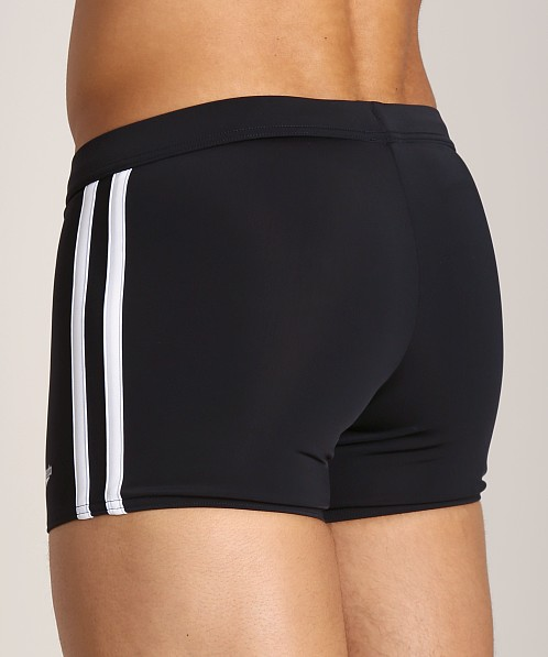 Speedo Shoreline Square Leg Swim Trunk Black