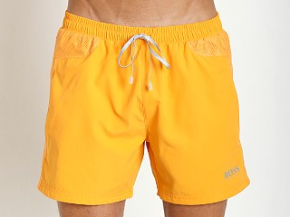 Hugo Boss Whalefish Swim Shorts Orange