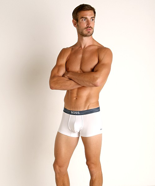 Hugo Boss Smooth Trunk White