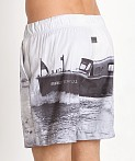 G-Star Yoshem Raw Ferry Beach Shorts Light Chalk, view 4