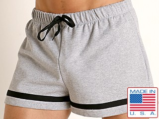 American Jock Equipo Bench Short Heather