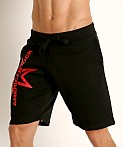American Jock Equipo Drill Short Black, view 3