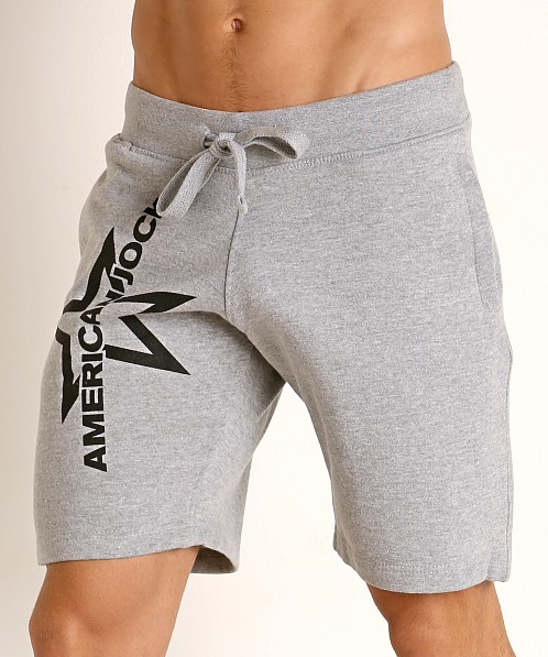American Jock Equipo Drill Short Heather