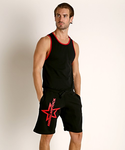 American Jock Equipo Scoop Tank Top Black