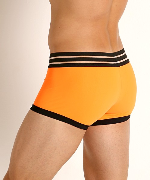 Sauvage C-Thru Waistband Trunk Neon Orange