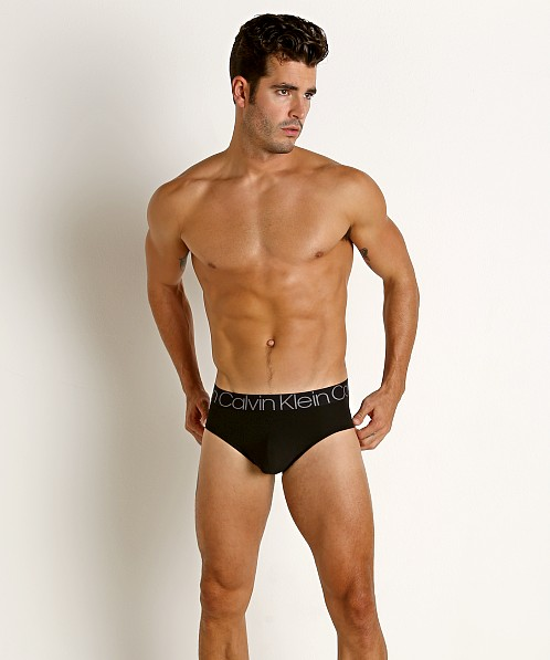 Calvin Klein Modulus Micro Hip Brief Black