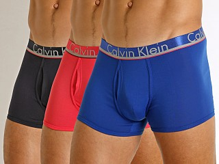 Calvin Klein Comfort Micro Low Rise Trunk 3-Pack Surf The Web