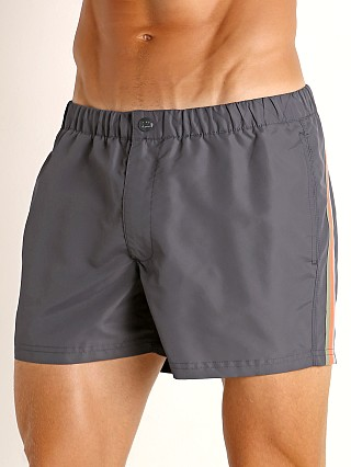 "Sundek 13"" Elastic Waistband Surf Trunk Midnight #15"