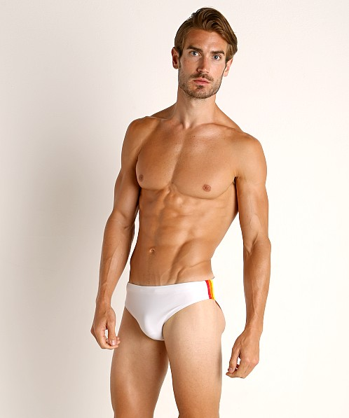 "Sundek 2.5"" Archangel Swim Brief Vintage White"
