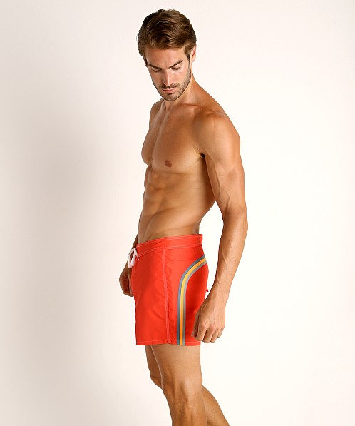 "Sundek 14"" Classic Low-Rise Boardshort New Grenadine"
