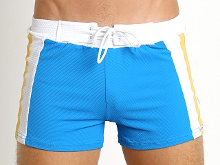 You may also like: Sauvage Textured Lycra Retro Swim Short Royal