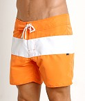 Sauvage Surf California Classic Boardshort Orange, view 3