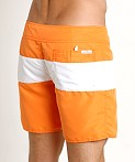 Sauvage Surf California Classic Boardshort Orange, view 4