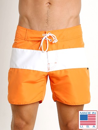 Sauvage Surf California Classic Boardshort Orange