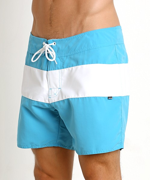 Sauvage Surf California Classic Boardshort Turquoise