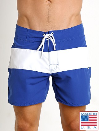 Sauvage Surf California Classic Boardshort Royal