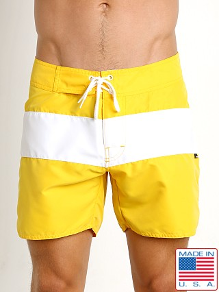 Sauvage Surf California Classic Boardshort Yellow