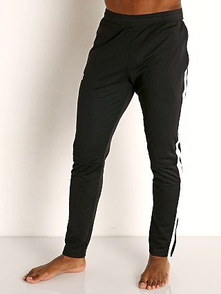 Complete the look: Under Armour Sportstyle Pique Track Pant Black/White