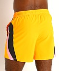 "Under Armour Launch 5"" Running Short Lunar Orange, view 4"