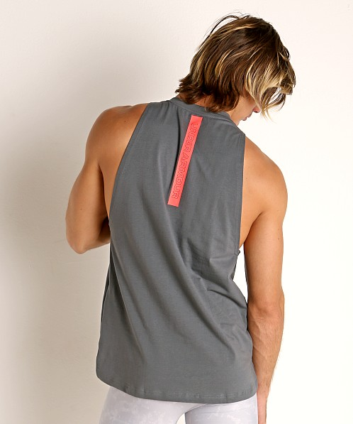 Under Armour Baseline Cotton Tank Top Pitch Gray/Beta