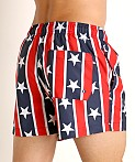 Speedo Redondo Stars and Stripes Volley Short Red/White/Blue, view 4