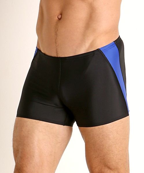 Speedo Splice Square Leg Swim Trunk Speedo Blue