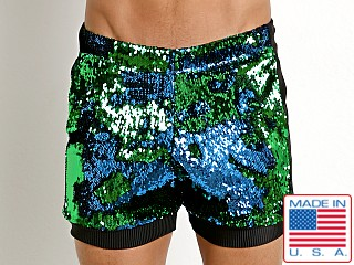 LASC Transformer Sequined Sparkle Trunk Mermaid