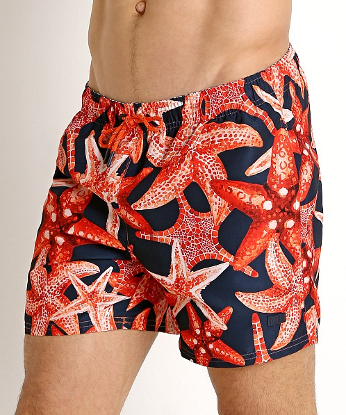 Hugo Boss Threadfin Swim Shorts Orange