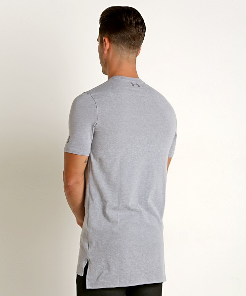 Under Armour Baseline Long Tee Light Heather