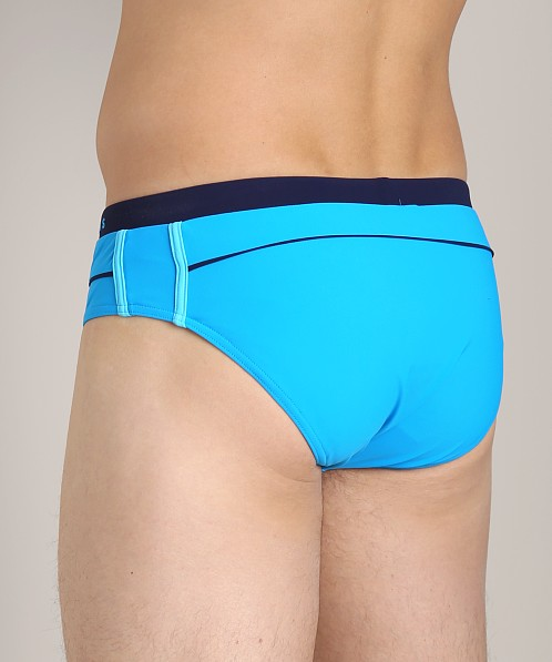 Hugo Boss Rosefish Swim Briefs Turquoise