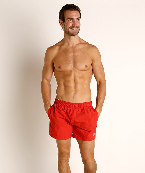 Hugo Boss Perch Swim Shorts Red