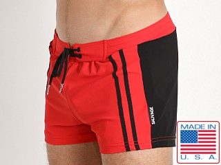 Sauvage Moderno Swim Trunk Red/Black