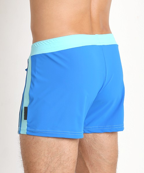 Sauvage Moderno Swim Trunk Sky/Royal
