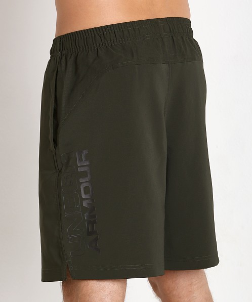 "Under Armour Hiit 10"" Woven Short Artillery Green"
